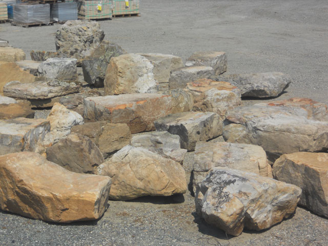 Decorative Boulders For Landscaping : Decorative boulders iron